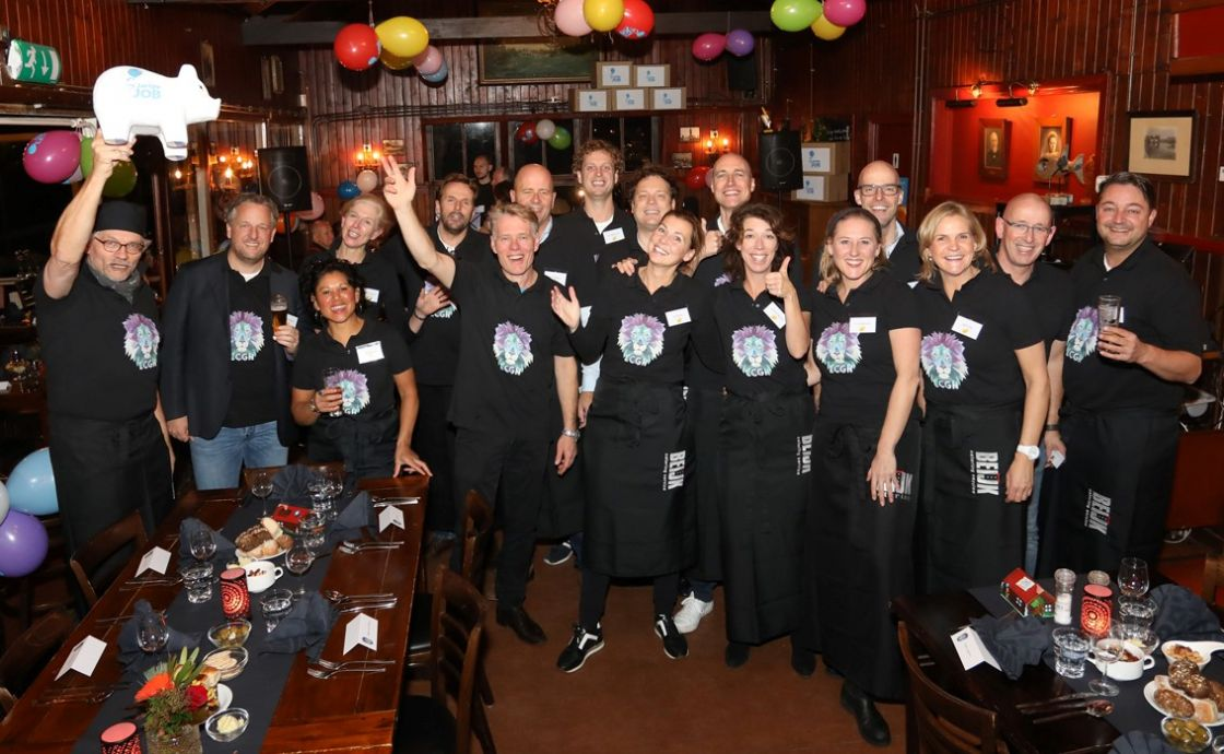 Pop-up restaurant groot succes